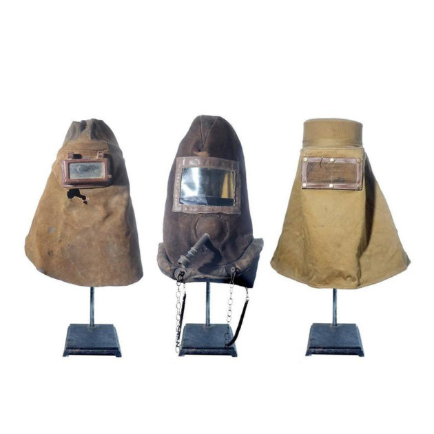 Three Early Industrial Masks