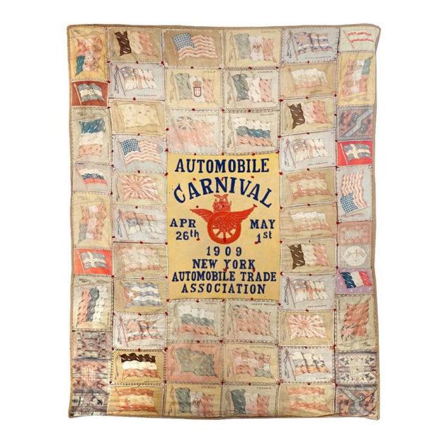1909 International Automobile Show Quilt