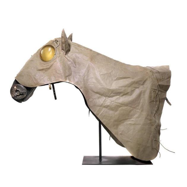 Japanese Horse Gas Shroud and Mask
