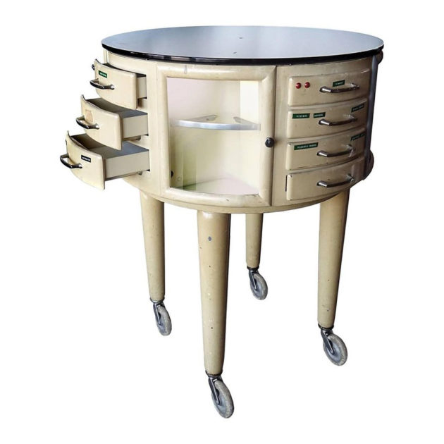 French Rotating Dental Table