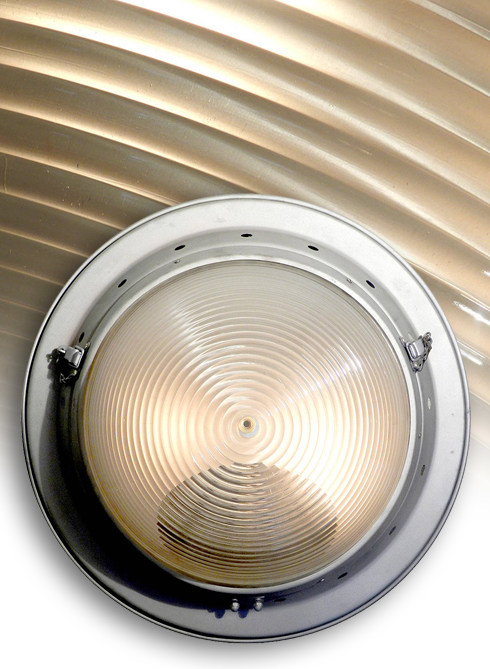 Large and Dramatic Beehive Dome Sconce or Ceiling Flush Mount