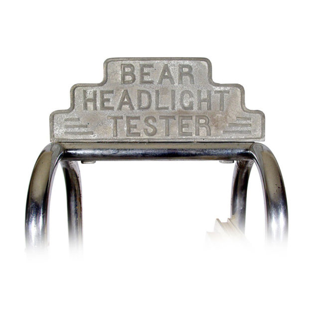 Bear Headlight tester Bookshelf