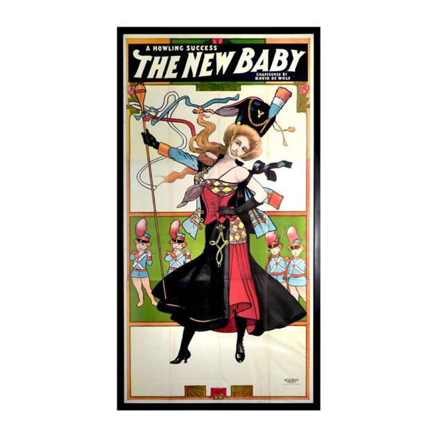 1900 Three-Sheet Theater Poster