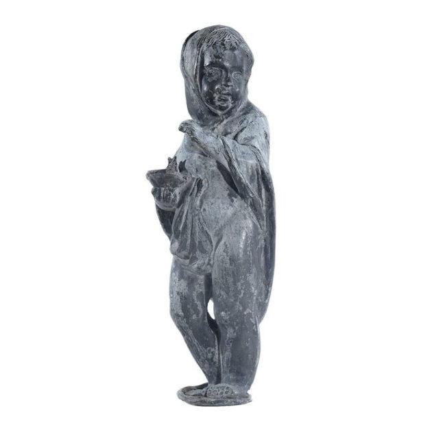 1800s Lead Garden Statue