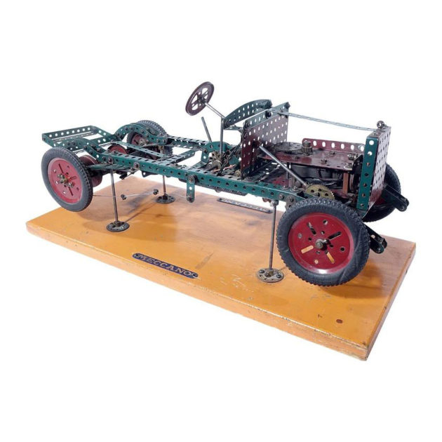 Factory Built Meccano Store Display