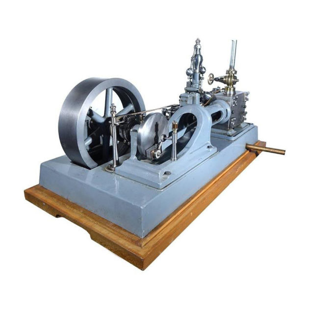 Complex Working Corliss Steam Engine Model