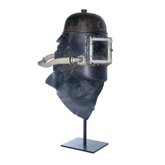 1878 Siebe Gorman Firemens Rescue Mask
