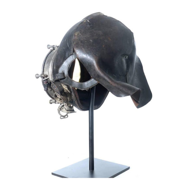 Very Rare and Important 1910 Drager Smoke Mask