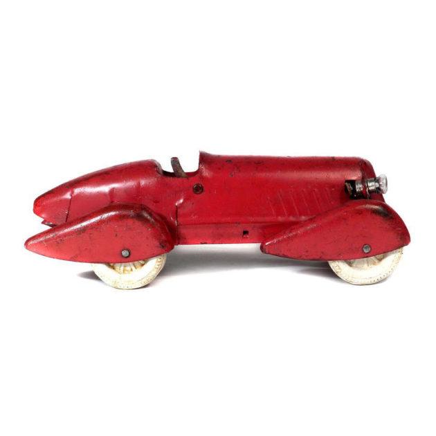 1930s Pressed Steel Streamlined Racing Car