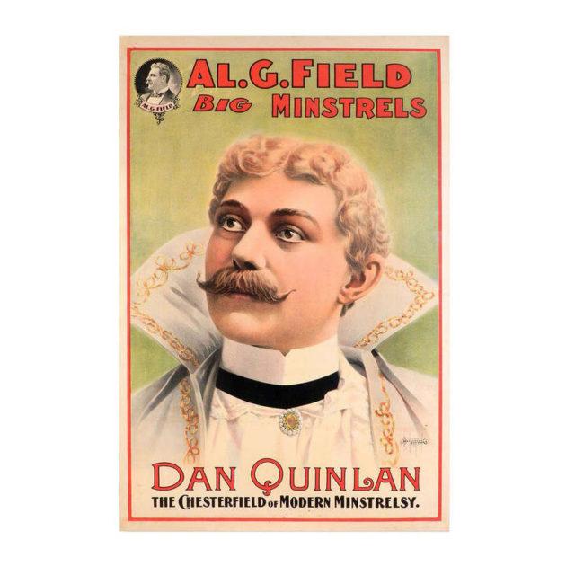 1890s Minstrel Poster