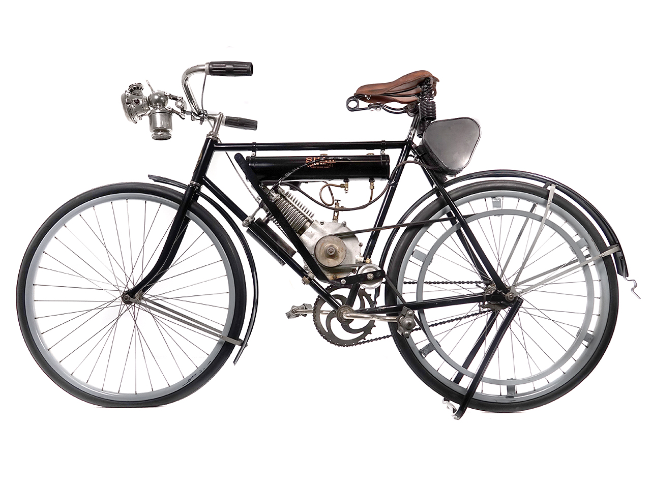 1913 Shaw Lightweight Motorcycle